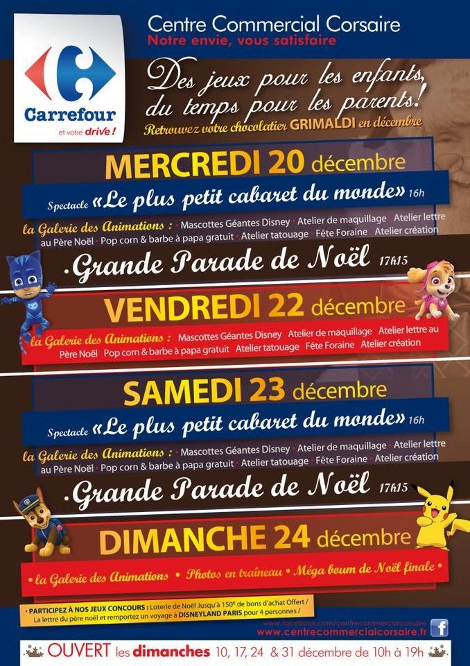 Lettre Pere Noel Disney.Le Centre Commercial Corsaire Fete Noel